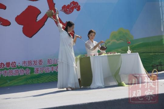 遂宁市第三届乡村旅游节开幕 6条精品线路等你来踏春